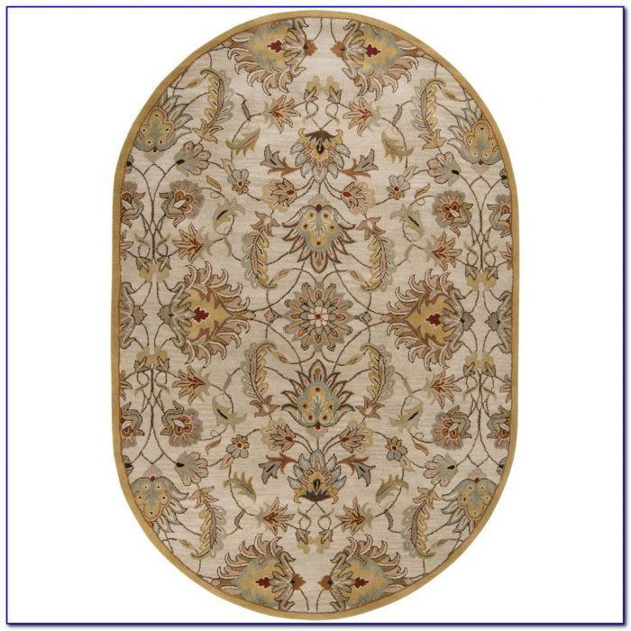 Oval Area Rugs 4x6