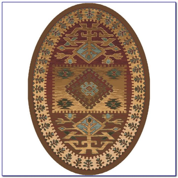 Oval Area Rugs 5x7