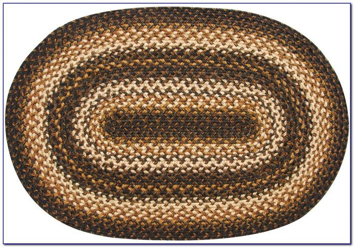 Oval Braided Rugs 3x5