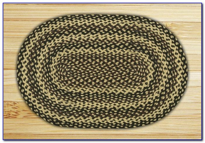 Oval Braided Rugs 4x6
