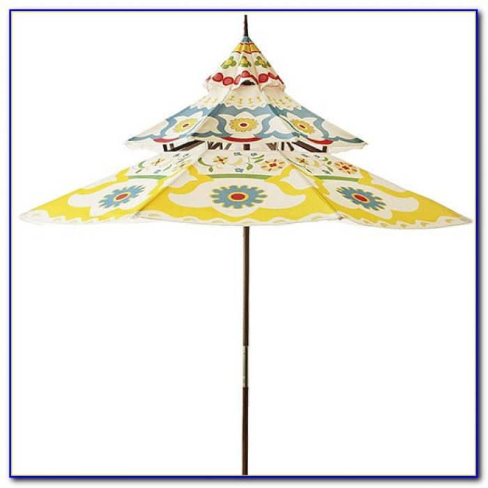 Pagoda Style Patio Umbrella