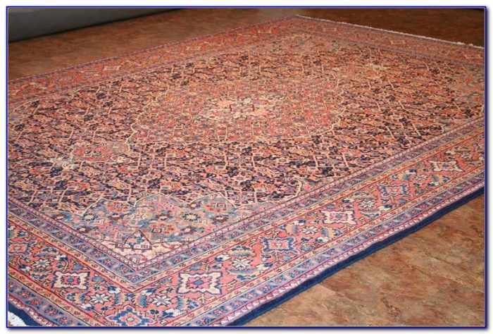 Navy Pink Persian Rug Rugs Home