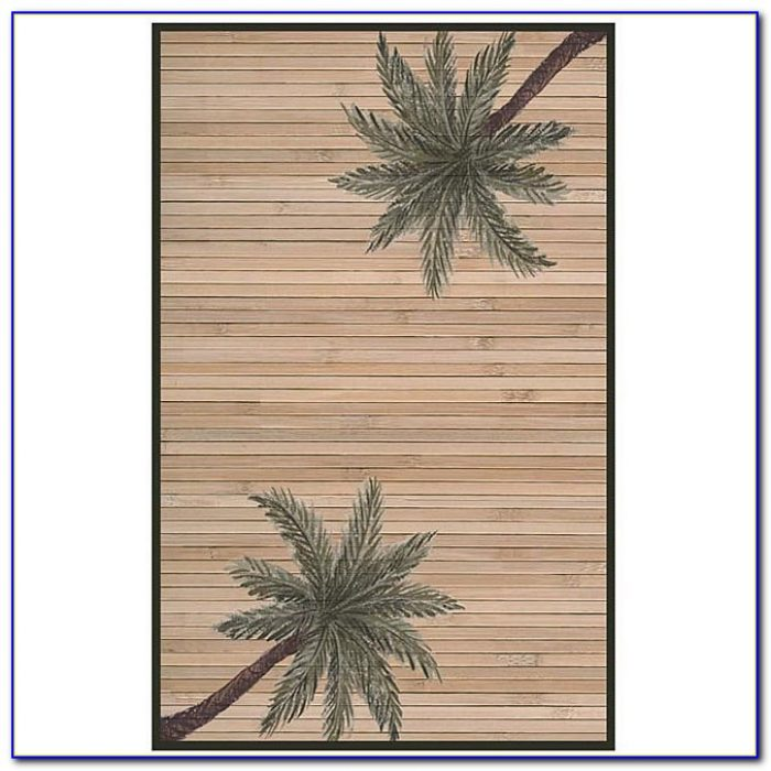 Palm Tree Rugs Bath