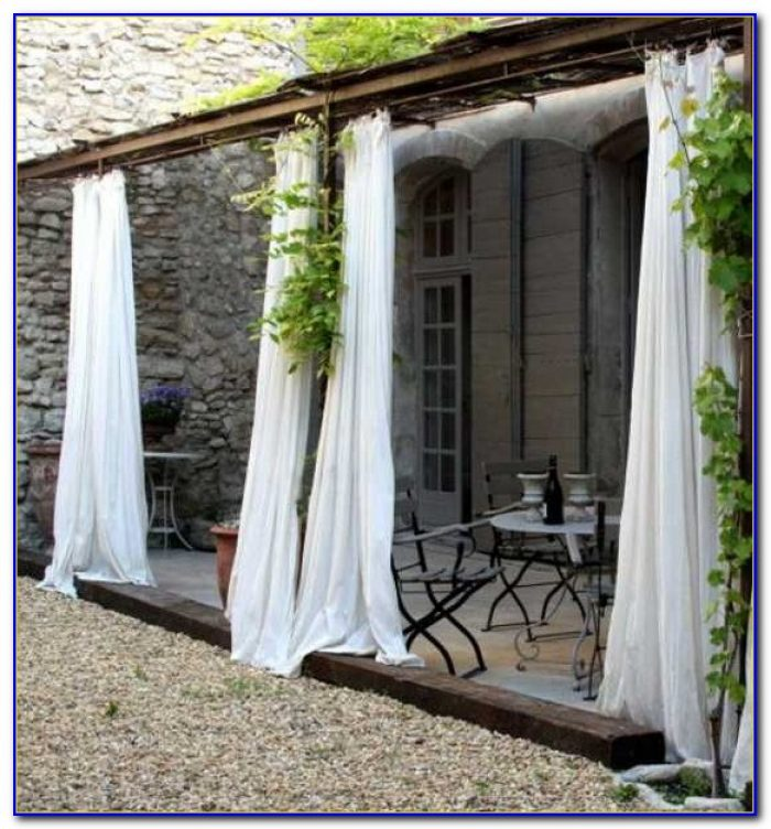 Patio Curtain Ideas