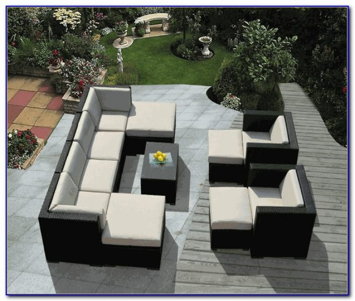 Patio Furniture Sectional Seating