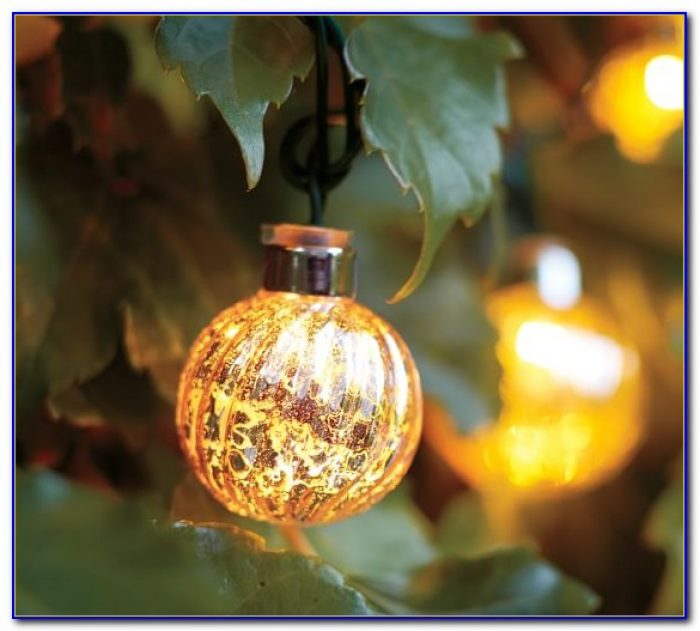 Patio Globe Led String Lights