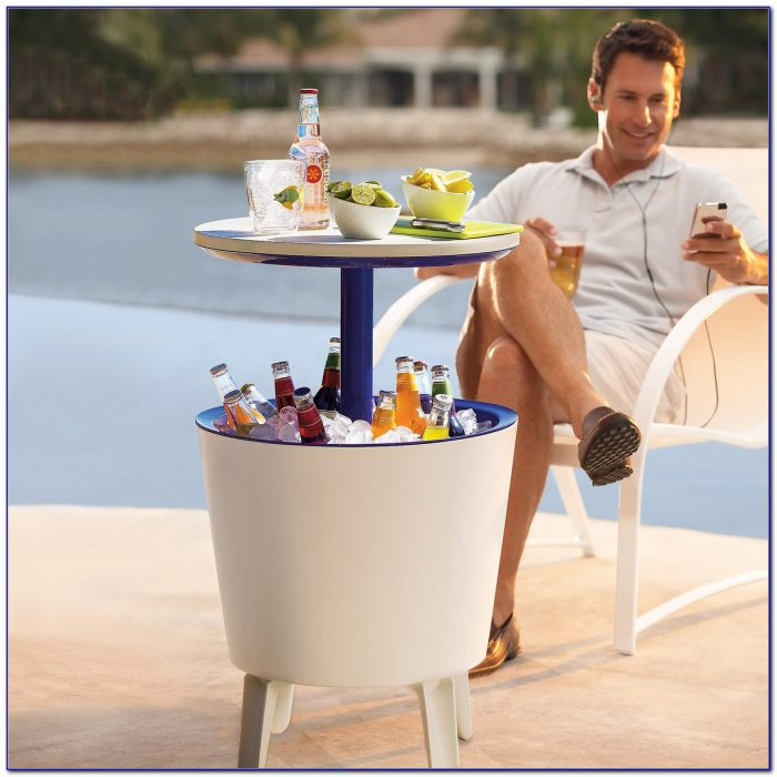 Patio Insulated Beverage Cooler