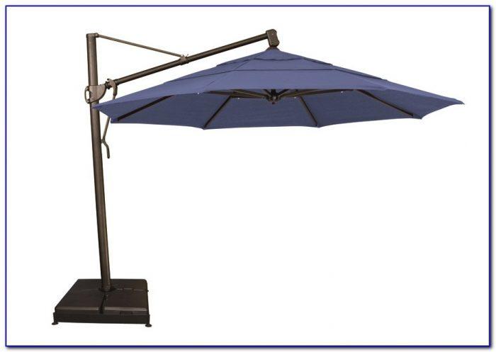 Patio Umbrella Offset Tilt