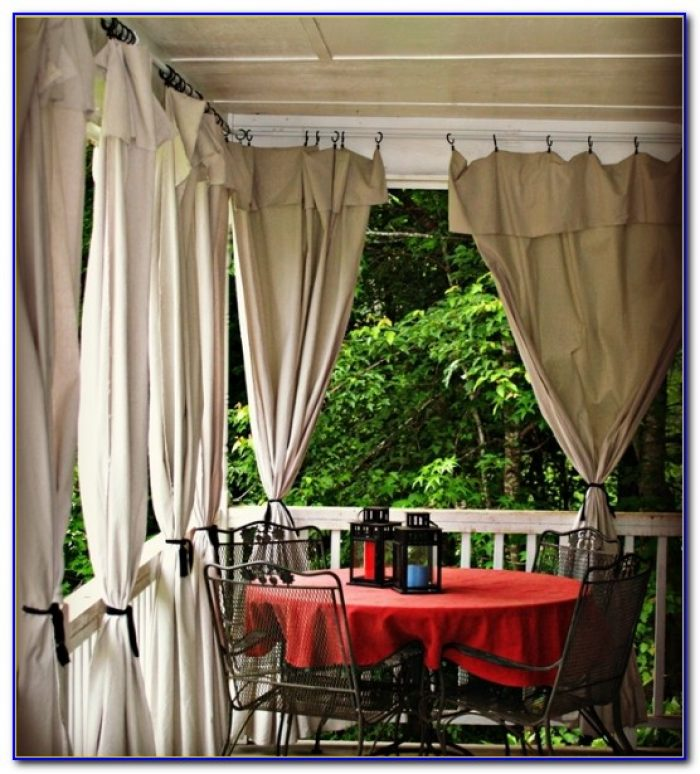 Patio Window Curtain Ideas