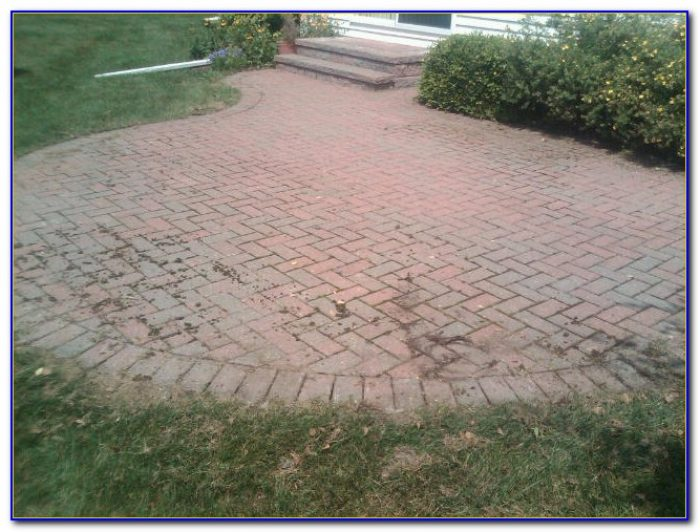Paver Patio Sealer Menards