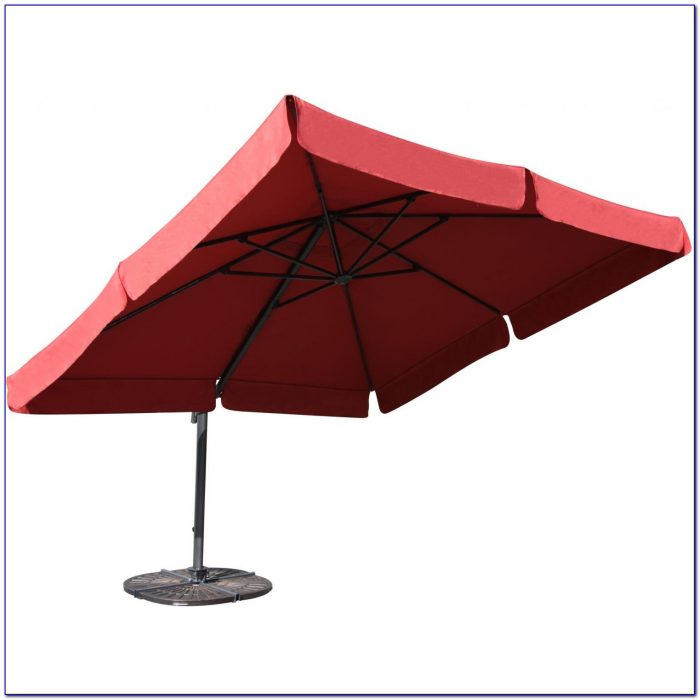 Portofino 10 Square Offset Patio Umbrella