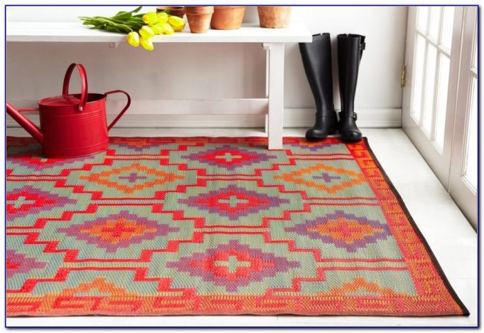 Recycled Plastic Rugs 8x10
