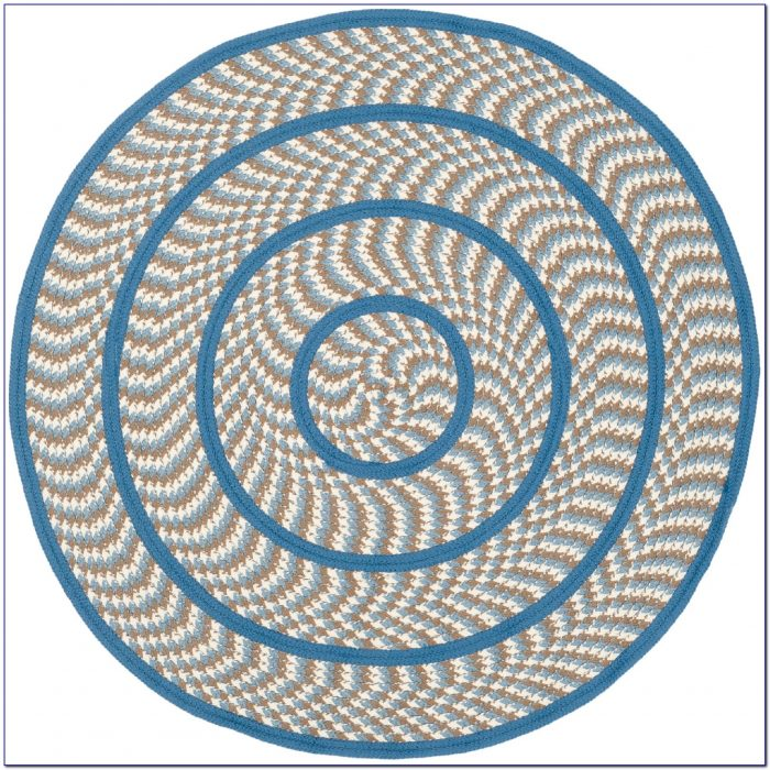 Round Braided Rugs 8x8