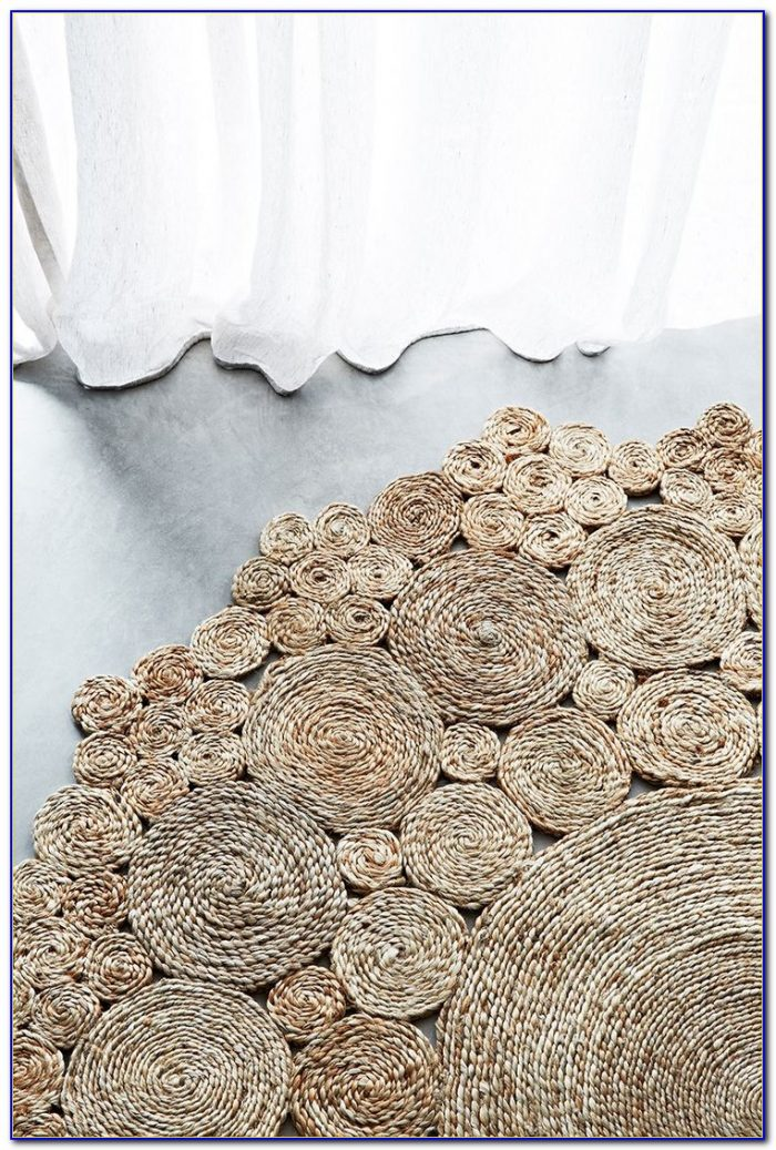 Round Sisal Rug Pottery Barn Rugs Home Design Ideas