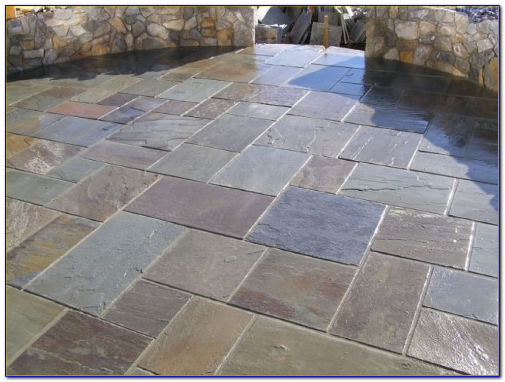 Slate Stone Patio Slabs