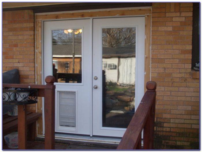 Sliding Patio Door With Pet Door Built In