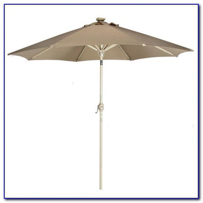 Solar Powered Patio Umbrella Ebay