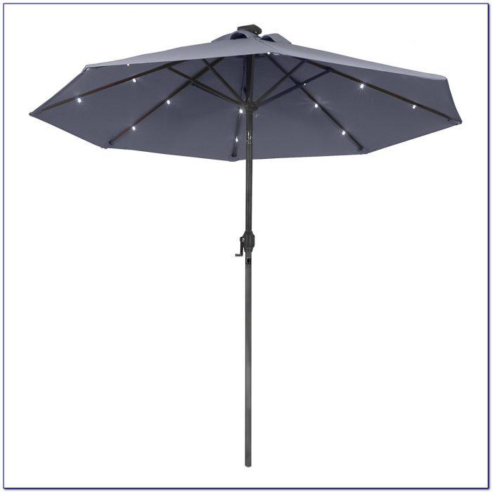 Solar Powered Patio Umbrella Fan