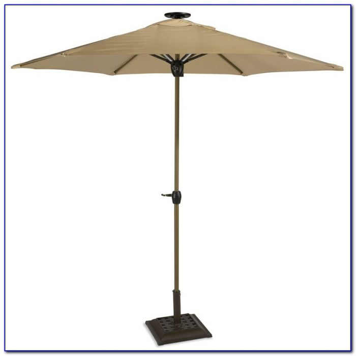 Solar Powered Patio Umbrella Lights