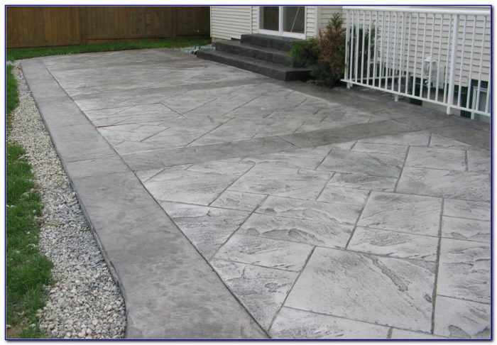 Stamped Concrete Patio Pictures