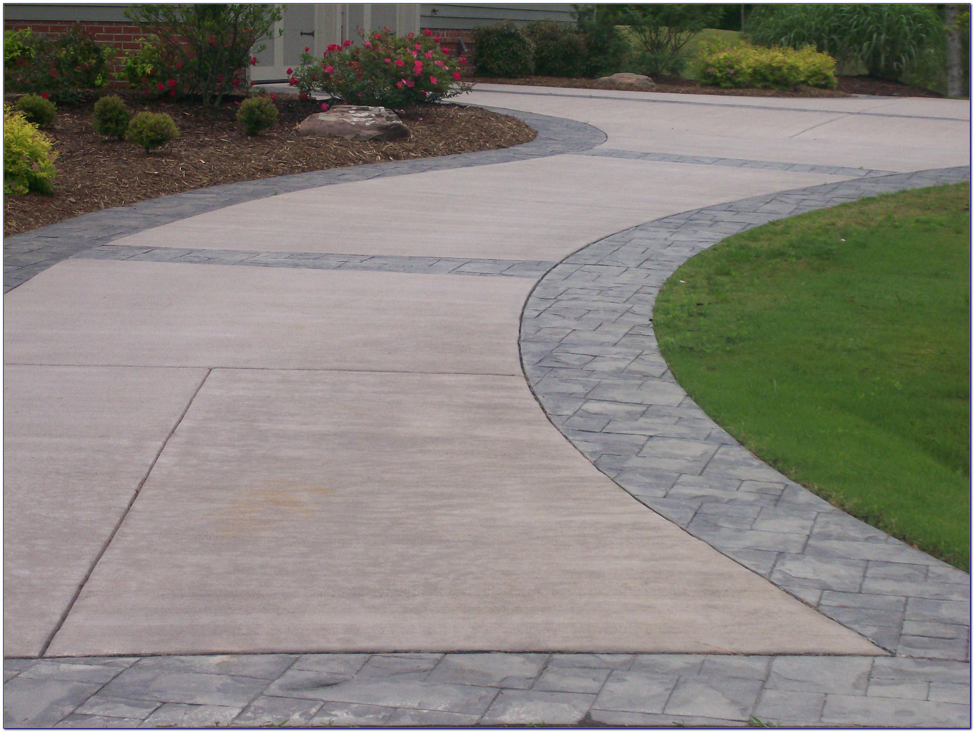 Stamped Concrete Patio Vs Pavers