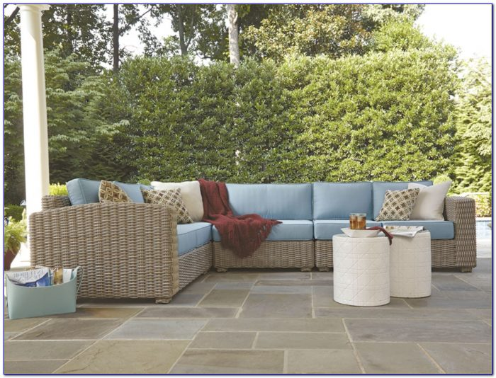 Wicker Outdoor Sectional Seating