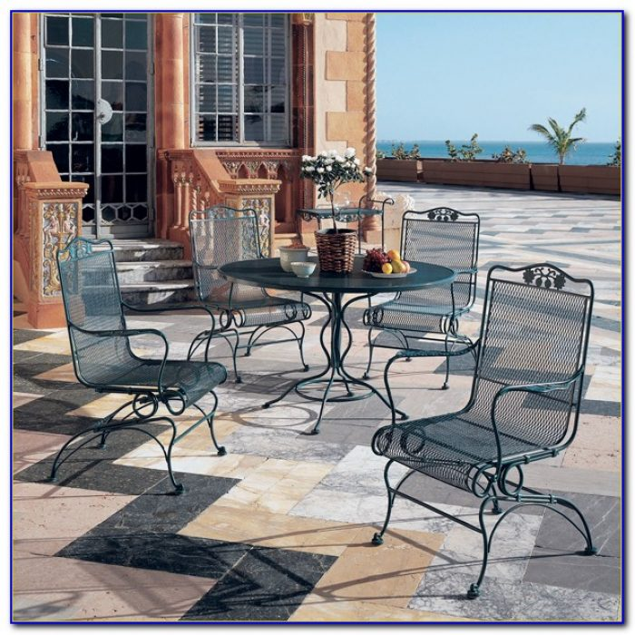 Woodard Wrought Iron Patio Furniture Paint
