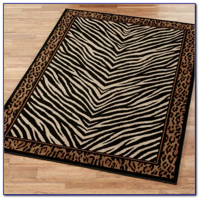 Zebra Print Area Rugs Target