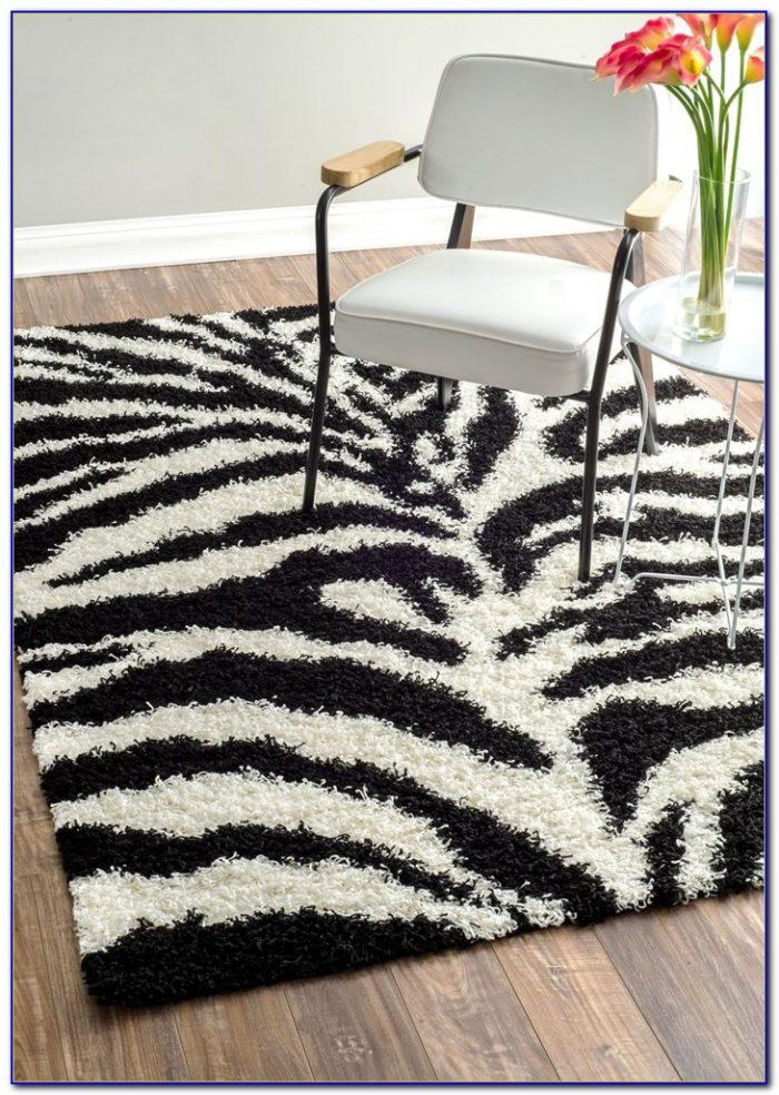Zebra Print Rug Amazon