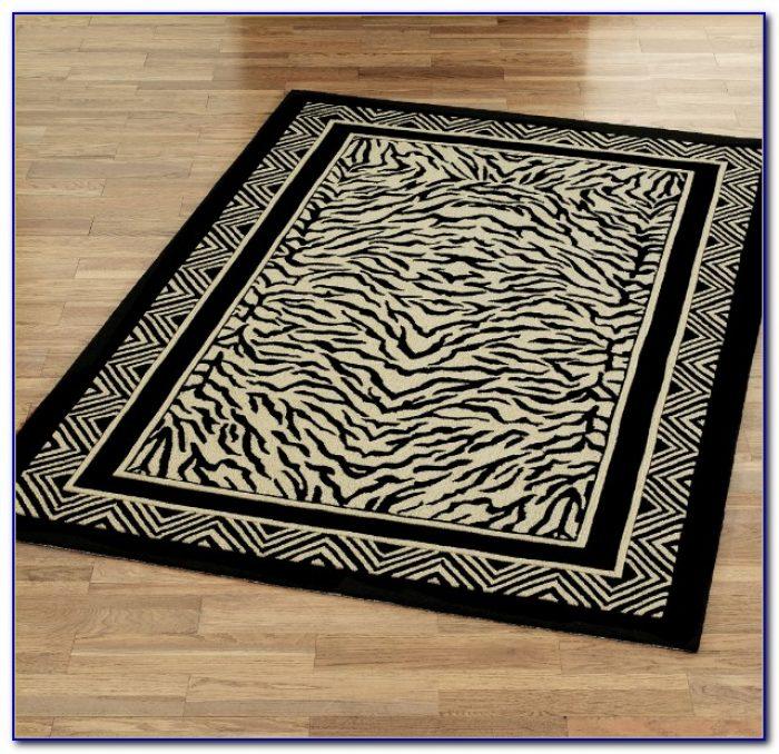 Zebra Print Rug Living Room