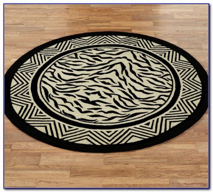 Zebra Print Rugs 8x10