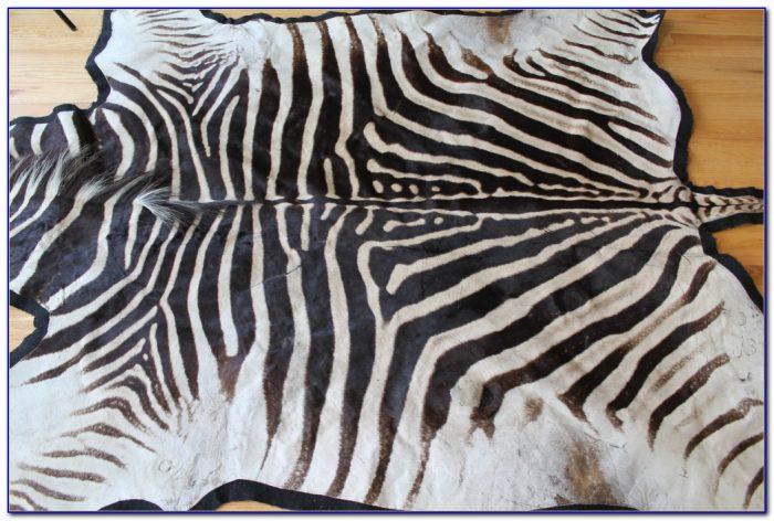 Zebra Skin Rug Nz