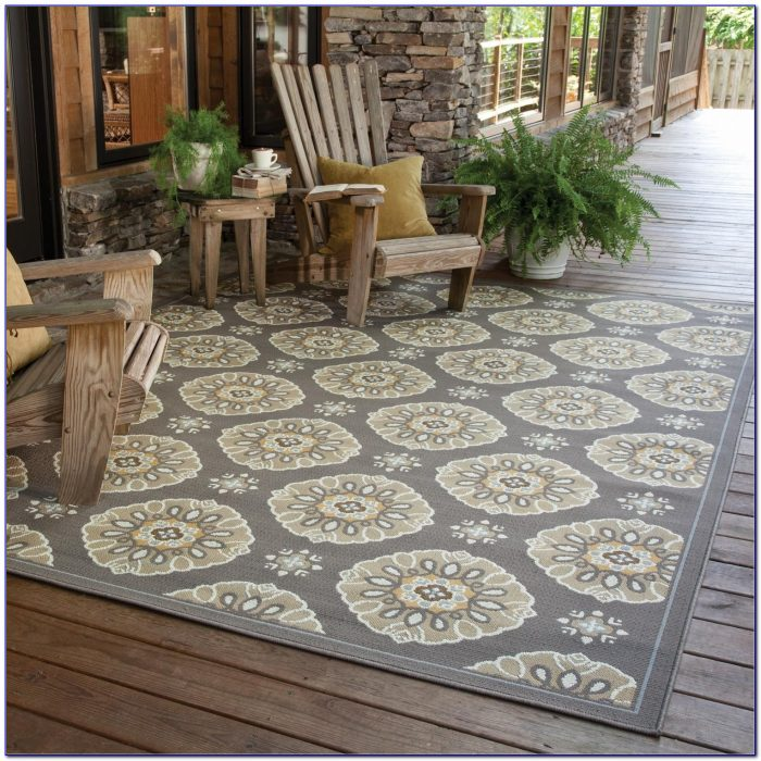 10x10 Square Outdoor Rug
