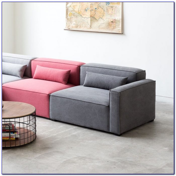 3 Pc Convertible Sectional Sofa Bed With Storage