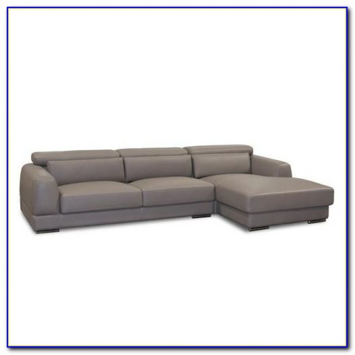 3 Piece Microfiber Sectional Sofa With Chaise