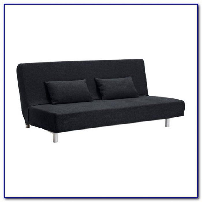 Black Ikea Lillberg Futon Sofa Bed
