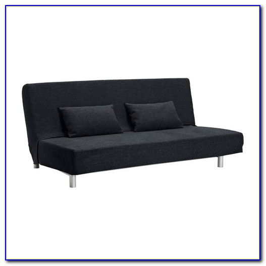 Black Ikea Lillberg Futon Sofa Bed