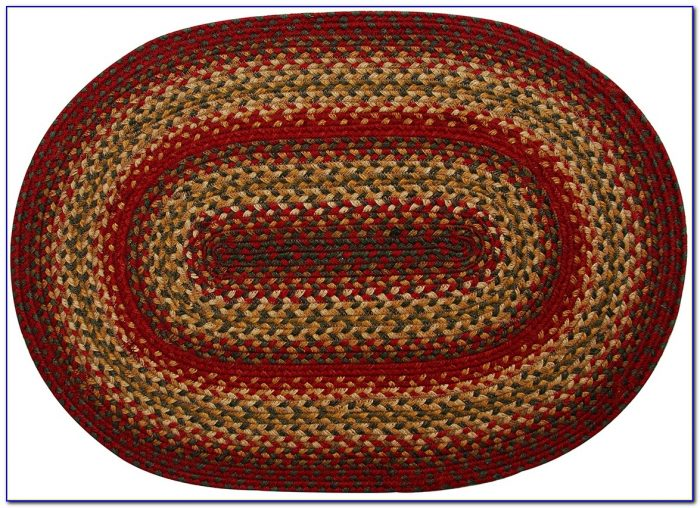 Braided Area Rugs Oval