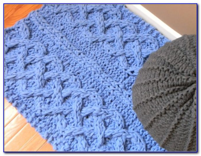 Cable Knit Area Rug