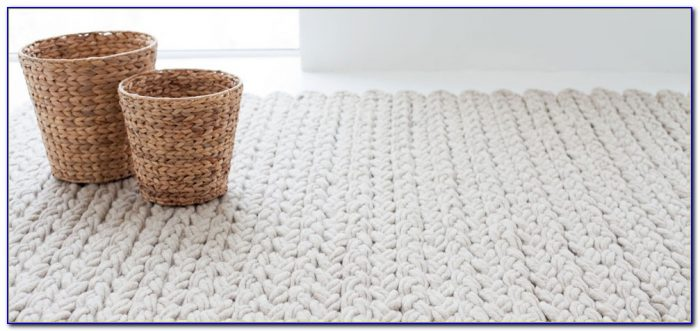 Cable Knit Rug Pattern