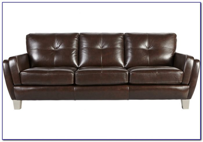 Cindy Crawford Leather Sofa The Brick