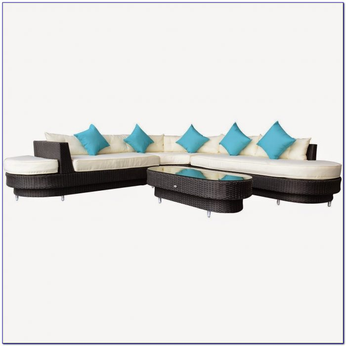 Coronado Outdoor Wicker Sectional Sofa By Sunset West