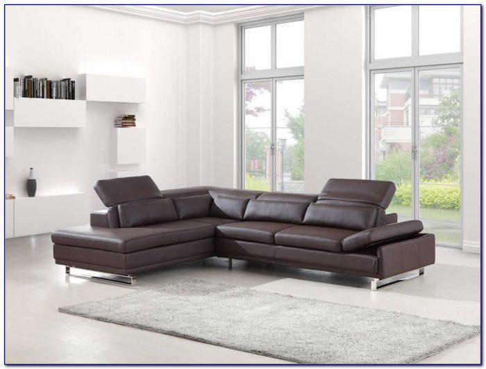 Franco Bonded Leather Sectional Sofa
