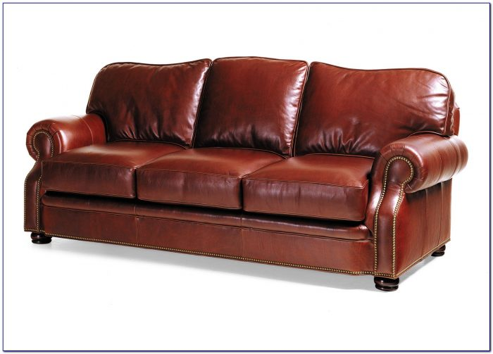 Hancock And Moore Leather Chesterfield Sofa