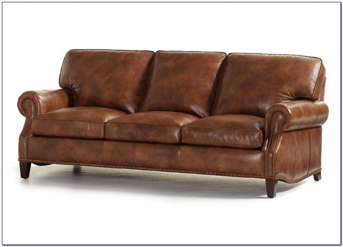 Hancock And Moore Leather Recliner Sofa