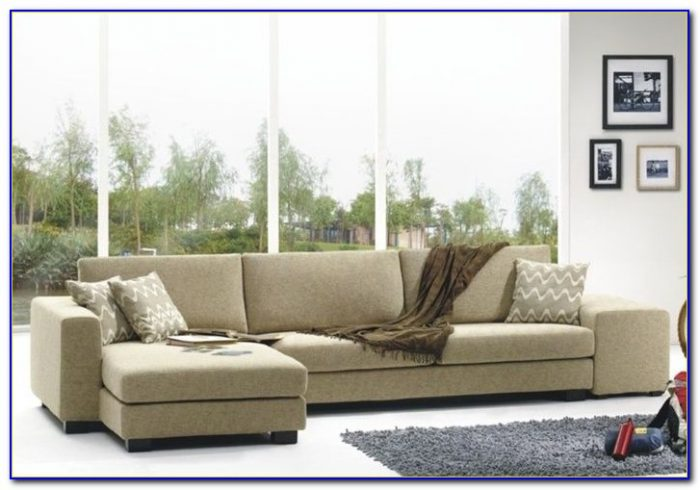 High End Leather Sectional Couch
