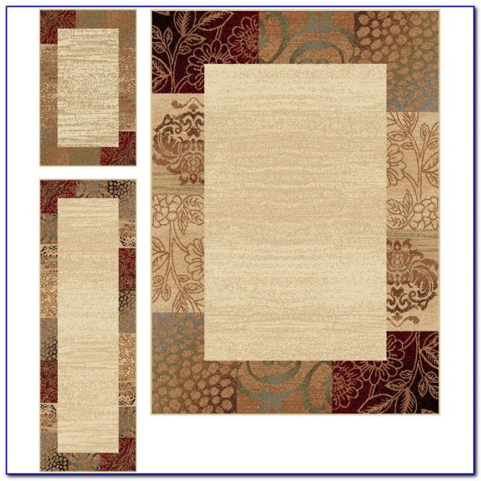 Home Dynamix Ariana Collection 3 Piece Area Rug Set