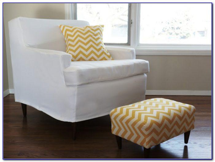 How To Make A Sofa Slipcover Easy