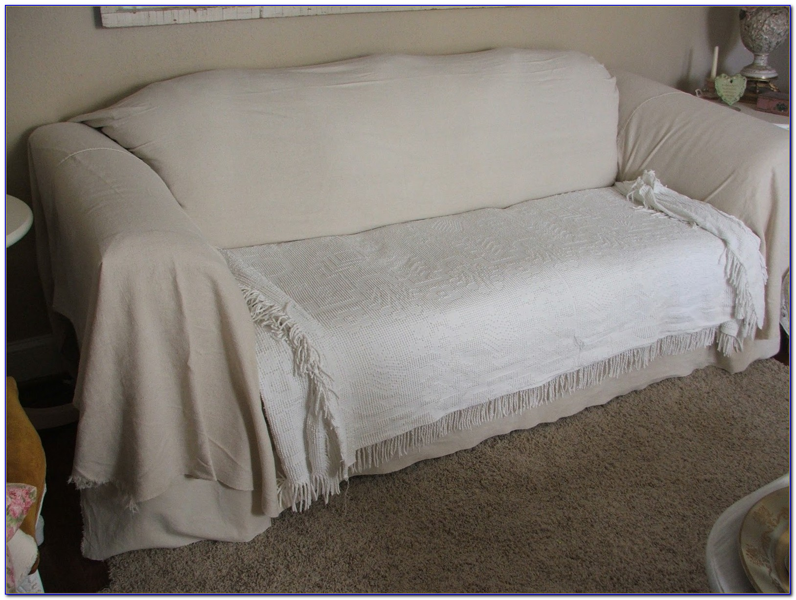 How To Make A Sofa Slipcover Stay In Place
