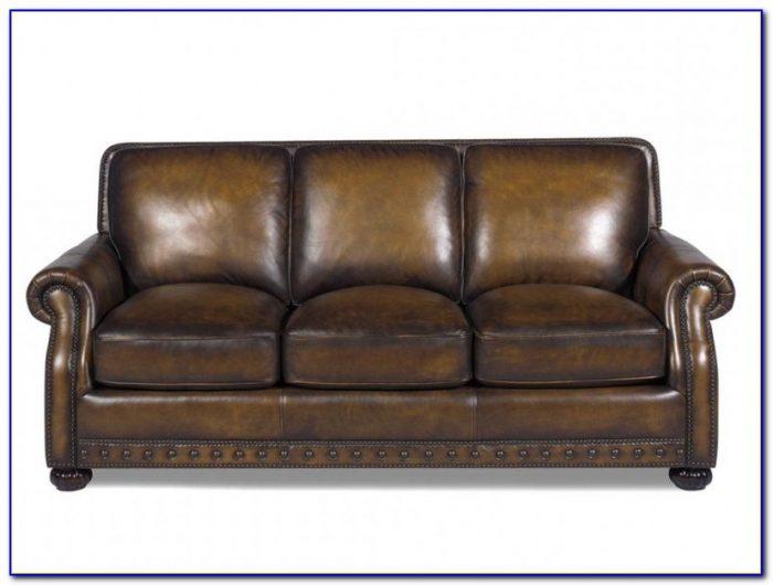Leather Couches With Nailhead Trim